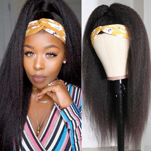 Peruwiański perwersyjne prosto półperuka nie szyć w oddychających ludzkich włosów peruki maszyna wykonana Julia dziewiczy włosy Glueless Yaki peruka z prostymi włosami