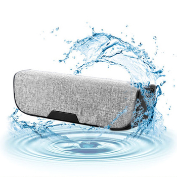 Bass Bluetooth Speaker Waterproof Dust-proof Fabric Design Speakers Outdoor Travel Laptop Mini Portable Speaker Car Dj Soundbar image