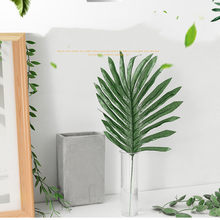 Artificial Palm Leaves Tropical Faux Leaves Decoration DIY Wedding Decoration Green Plant Photo props Party dec Home decoration