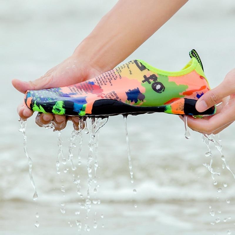 Sneakers Men Women Barefoot Beach Water Shoes Lovers Outdoor Fishing Swimming Bicycle Quick-Drying Aqua Shoes Zapatos De Mujer 6