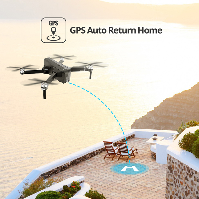 Holy Stone DE22 GPS Drone With 2K FHD Camera FOV 120° 5G Wi-Fi FPV Live Video Foldable Drone GPS RC Quadcopter Brushless 25 Mins