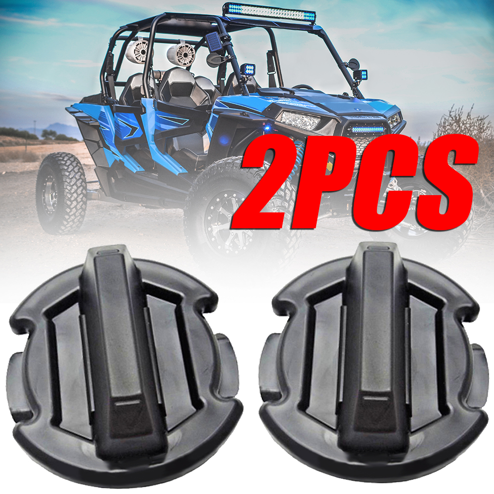 Treyues 2PC Twist Floor Drain Plug High Quality ABS For Polaris General RZR 4 900 15-16 RZR XP 1000 14-16 RZR 900 1000 2016