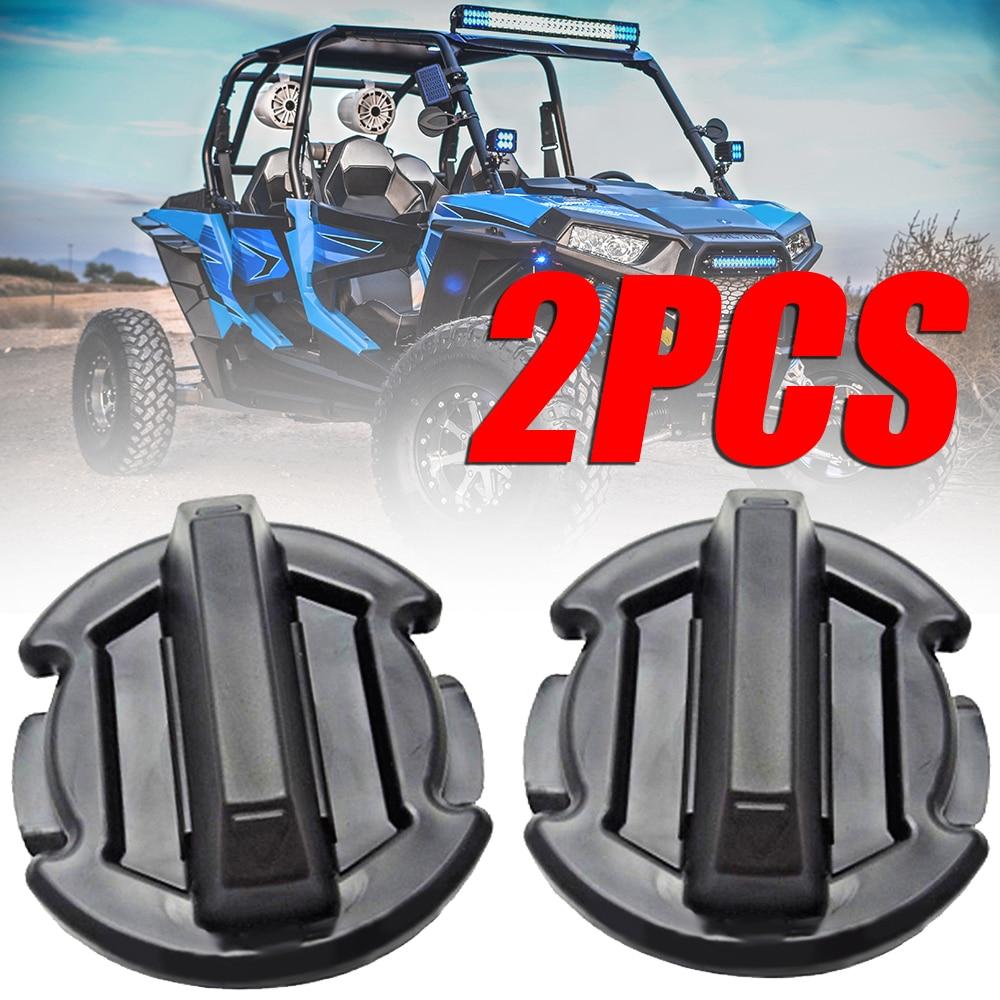 Treyues 2PC Twist Floor Drain Plug High Quality ABS For Polaris General RZR 4 900 15-16 RZR XP 1000 14-16 RZR 900 1000 2016