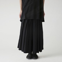 High Elastic Waist Black Bandage Long Wide Leg Trousers New