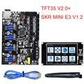 BIGTREETECH SKR mini E3 V1.2 плата управления 32 бит + TMC2209 UART + TFT35 V2.0 сенсорный экран для Ender 3/5 SKR V1.3 части 3d принтера