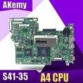 Новинка 14235-1 для lenovo S41-35 материнская плата для ноутбука 80JW cpu: A4-7210 GPU:R5-330M 2 Гб DDR3L FRU: 5B20J40575 100% тест
