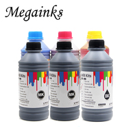 1000ml PFI 102 104 107 Dye tinta Para Canon iPF 500 510 600 610 700 710 605 650 655 750 755 760 765 670 680 685 770 780 printer