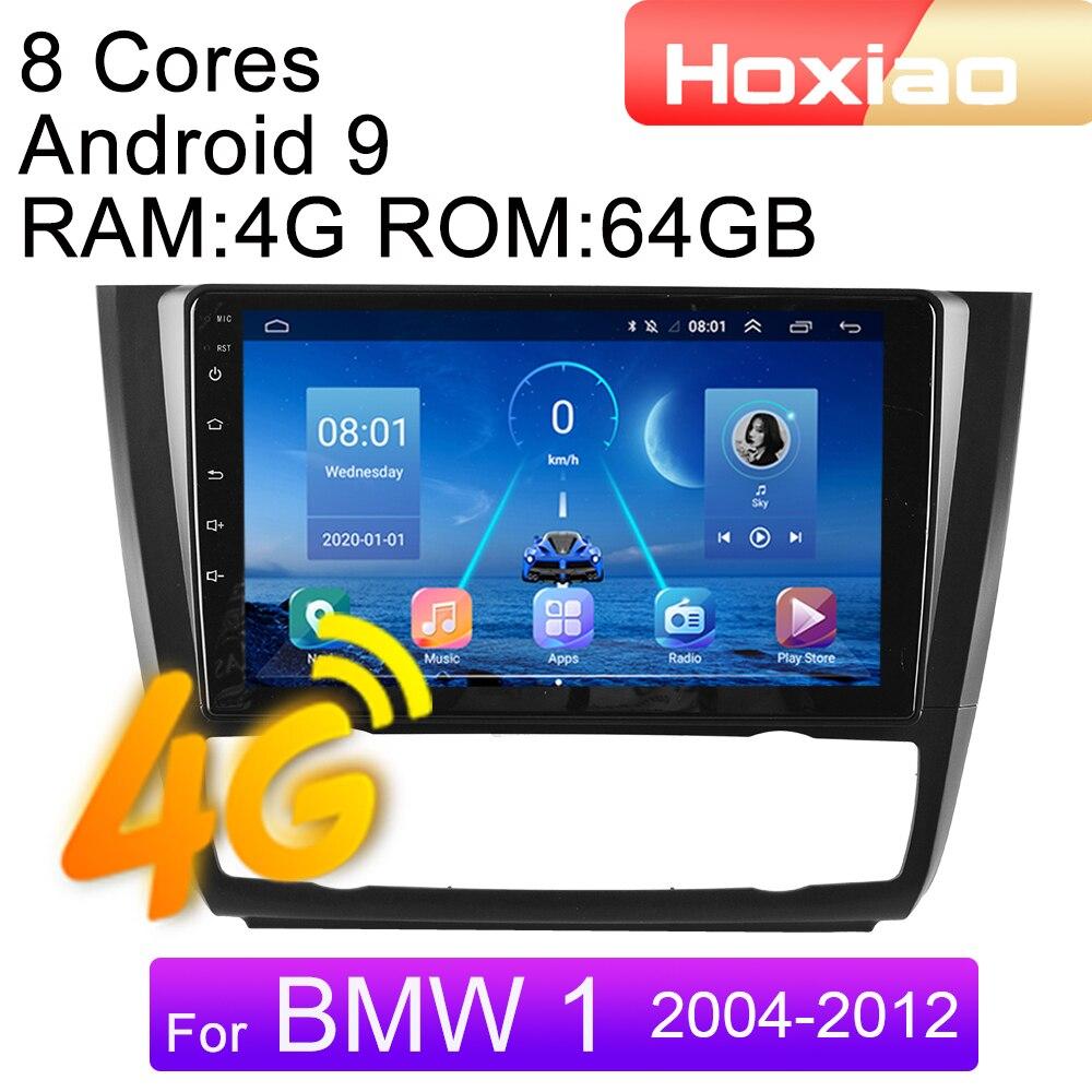 2din автомобильный Радио Мультимедийный видео плеер для BMW 1-Series 1 серии E88 E82 E81 E87 2004-2012 4G Android навигация GPS аудио 2 DIN