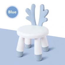 New Home Chair Baby Stool Footboard Indoor Furniture Child Stool Toy Sofa Stool Children Chair Cartoons Deer Chair Bench