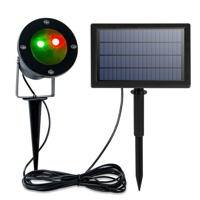 Outdoor Solar Garden Lawn Stage Effect Light Fairy Sky Star Laser Projector Waterproof Landscape Garden Christmas Decor Lamp 6