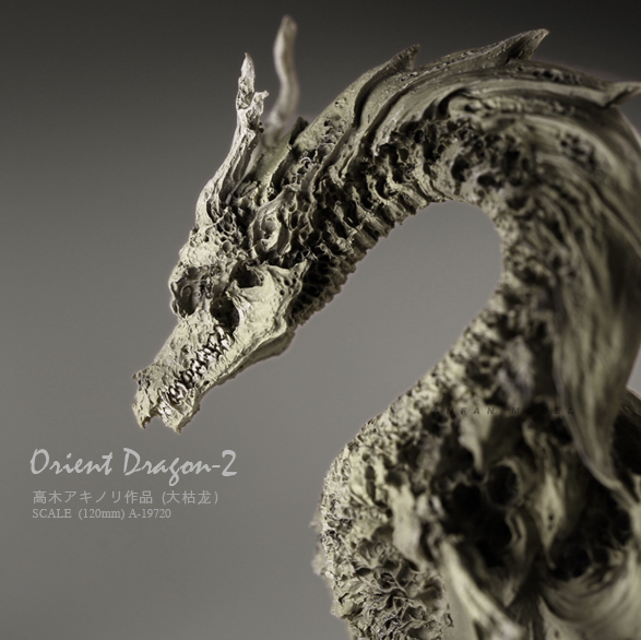 Resin Model China Dragon Bone Resin Colorless (12CM) A-19720