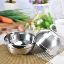 High-end Stainless Steel Bowl Double Thick Stainless Steel Bowl Korean 304 Stainless Steel Polished Noodles Soup Bowl stainless steel