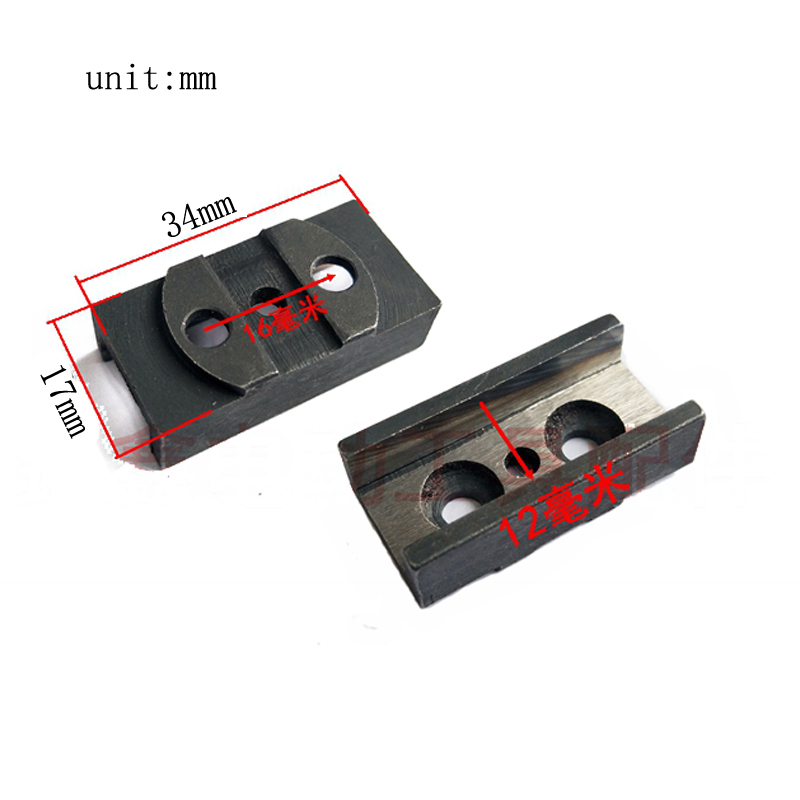 Jig Saw Accessories For Makita 4304 Jig Saw Rail Reciprocating Saw Steel Slot Track Parts