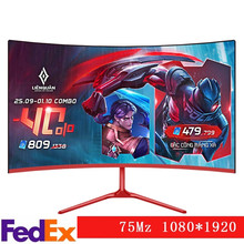 24 Polegada monitor 144 hz gaming curvo komputer ips display lcd hd desktop gamer tela do computador ecran painel plano hdmi/dp