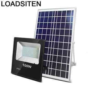 Proiettore Faretto Esterno Holofote Spot Exterieur Schijnwerper Outdoor Solar Foco Esterno Ha Condotto il Riflettore della Luce di Inondazione Impermeabile