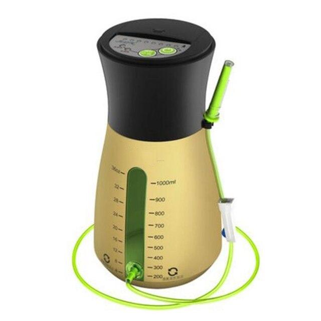 Dispositif amincissant pour la défécation de spa Intestinal, instrument clair pour le lavement de lintestin, go blaine