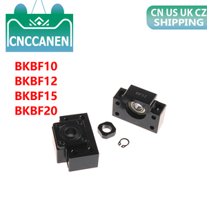 Image 1 - 1 ชุด BKBF10 BKBF12 BKBF15 คงที่ลอยปลายรองรับแบริ่ง Mounts สำหรับชิ้นส่วน CNC
