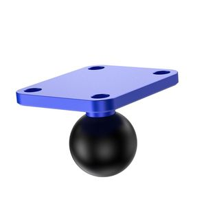 Image 5 - Aluminum Square Mounting Base w/ 1 inch ( 25mm ) Bubber ball compatible Mounts For G orpo Camera dslr For G armin G99B