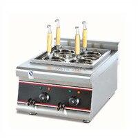 PKJG-EH488 tezgah üstü ticari elektrikli makarna pişirici şehriye pişirme makinesi ticari hızlı makarna kazan