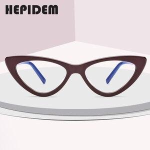 Image 2 - Acetat Optische Gläser Rahmen Frauen Marke Designer Cat Eye Brillen Neue Fors Damen Cateye Spektakel Brillen