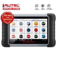 Autel maxicom mk808 obd2 scanner automotivo ferramenta de diagnóstico do carro obd 2 escaner leitor de código tpms obdii codificação chave crp 909x crp909