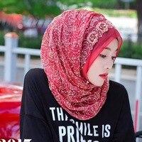 Evening party fashion shawls Muslim women hijabs