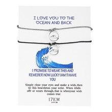 2pcs/set Female Bohemian Wave Bracelet Women Adjustable Handmade Rope Chains Bracelets Summer Beach Simple Jewelry Ladies