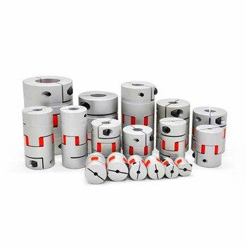 цена на Flexible Plum Shaft Coupling CNC Stepper Motor Coupler D20L25 D20L30 D25L30 D25L35 D30L35 Jaw shaft coupling 5mm 8mm 10mm 1PCS