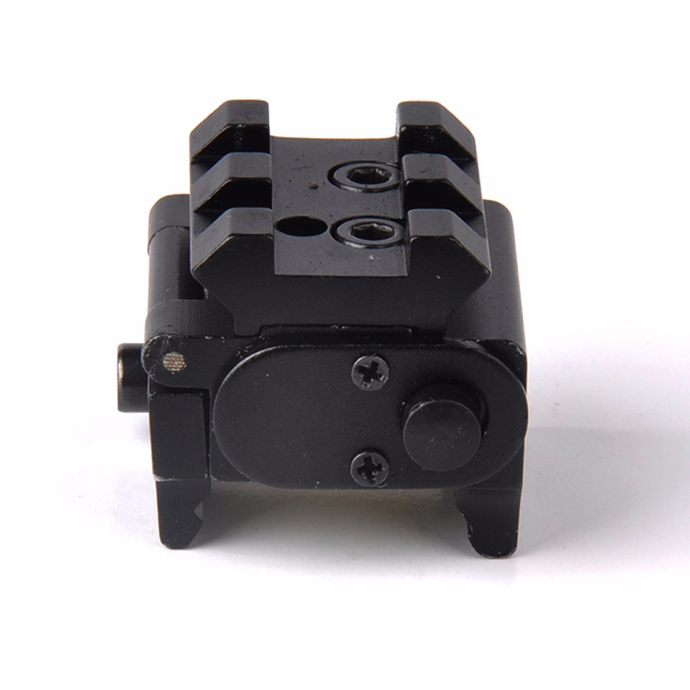 Hot High Quality Adjustable Red Laser Sight with 20mm Rail Mount Fit for Glock 17 19 Pistol Guns Glock Hunting Accessory-1