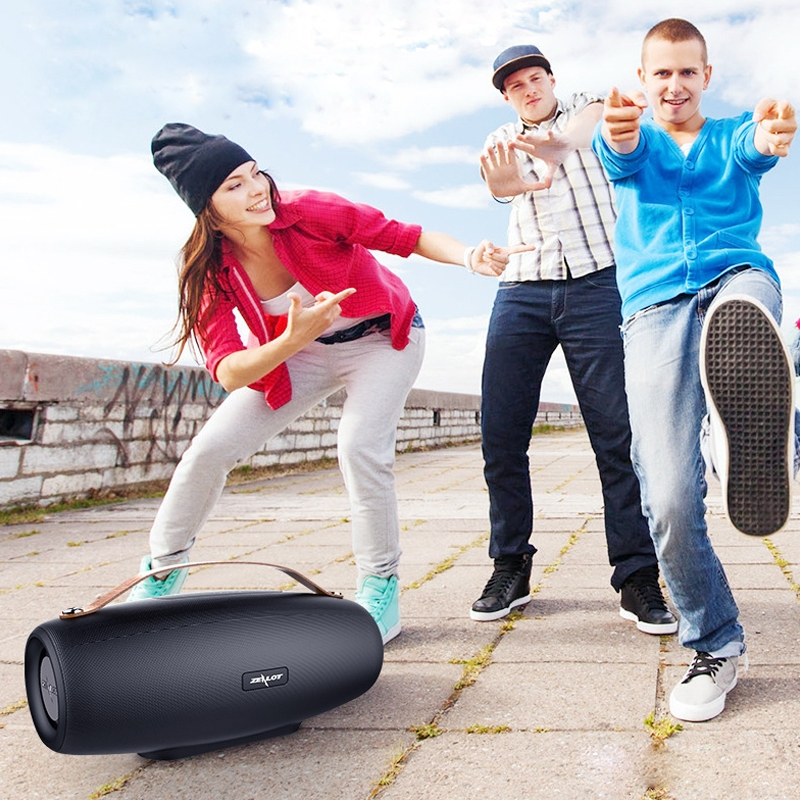 Wholesale Price Product ZEALOT S27 Multifunctional Bass Wireless Blue Tooth Speaker, Built-in Microphone ( Black )