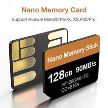Новейшая нм карта чтения 90 МБ/с./с 128 ГБ нано карта памяти для huawei Mate20 Pro Mate20 X P30 P30 Pro Mate30 Mate30Pro