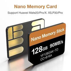 Новейшая Nano карта памяти 2020, 90 МБ/с./с, 128 ГБ, подходит для Huawei Mate20 Pro Mate20 X P40 P30 P30 Pro Mate30 Mate30Pro