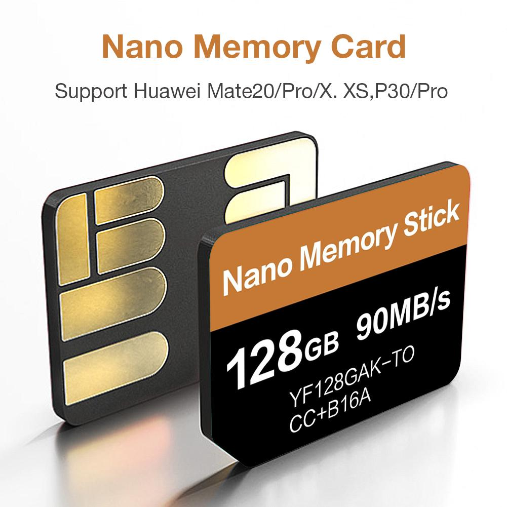 2020 Newest NM Card Read 90MB/s 128GB Nano Memory Card Apply For Huawei Mate20 Pro Mate20 X P40 P30 P30 Pro Mate30 Mate30Pro
