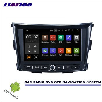 Liorlee Car Android Multimedia Player For SsangYong Tivoli 2015-2017 GPS Radio Navigation Screen System Driving Video Recorder image