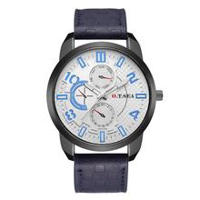 Relogio Masculino Analog Date Men Watches Fashion Sport Stainless Steel Case Leather Band Watch Quartz Business Wristwatch Male стоимость
