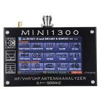 Analizador de antena Mini1300, 0,1-1300MHz, HF, VHF, UHF, analizador de red Vector, medidor SWR, multímetro de Radio RF de barrido de frecuencia, nuevo