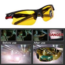 Anti Glare okulary dla szkła samochodowego Anti-Glare okulary do jazdy w nocy okulary Vision ochronne okulary gogle tanie tanio CN (pochodzenie) 99 Percentage Unisex Fashion Driving Outdoor