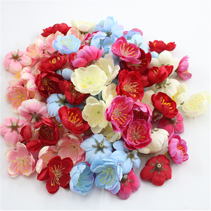 10 piezas flor de melocoón simulação de 3cm, flor para decoração de flores artificiais, decoração de artesanato do del h