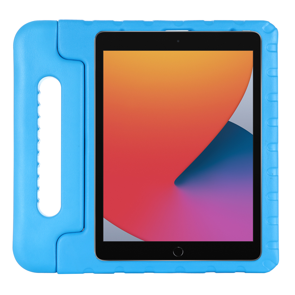 blue Red Children Tablet Shockproof Case For iPad 10 2 inch 8th 2020 Silicon Cover For 2020 iPad