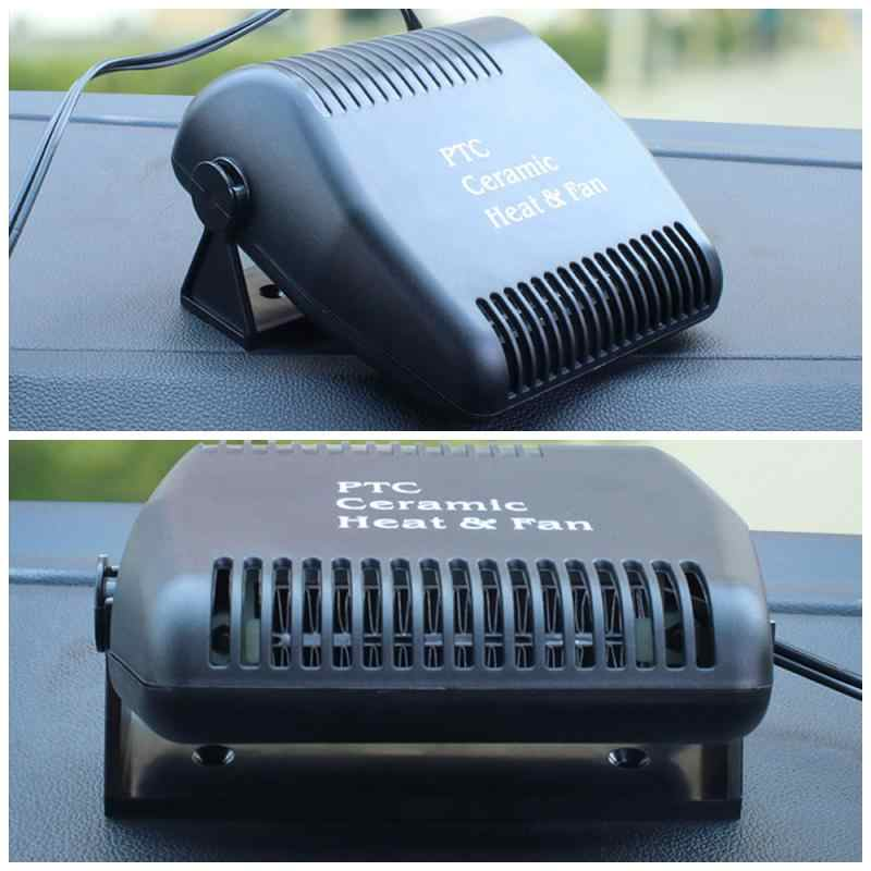 Auto Windschutzscheibe Elektrische Heizung Heizung Air Lüfter Tragbare Trockner Windschutzscheibe Demister Defroster Heizung Für Lkw Auto Boot