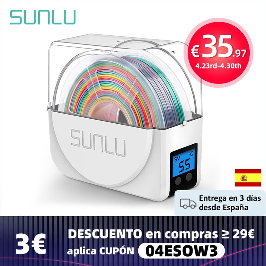 Сушилка для наполнителя SUNLU 3D, держатель для хранения филаментов FDM