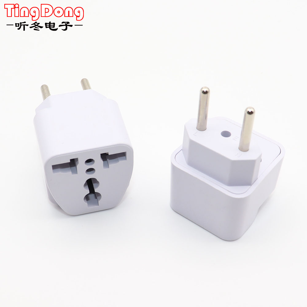 2Pin US EU AU Plug Travel Adapter Converter Wall Charger AC Power Charger Outlet