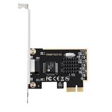 DIEWU oyun PCIE kartı 2500Mbps Gigabit ağ kartı 2.5G RJ45 ağ adaptörü PCIe1X ile lan kartı Realtek8125