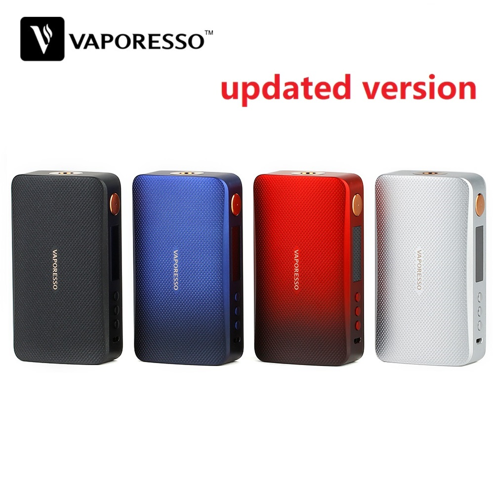 Updated Version!!! Original 220W Vaporesso GEN TC Box MOD W/ All-new Axon Chipset E-cig Vape Mod VS Vaporesso Polar TC Box MOD