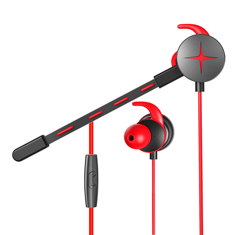 Gaming Earphone Hammerhead V2 Pro With Mic 3.5Mm Y Splitter Microphone In-Ear Earphones For Mobile Phone