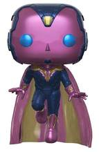 Виниловые фигурки Marvel Мстители зрение 307 Горячая тема Exc 10 см коллекционные модели игрушки