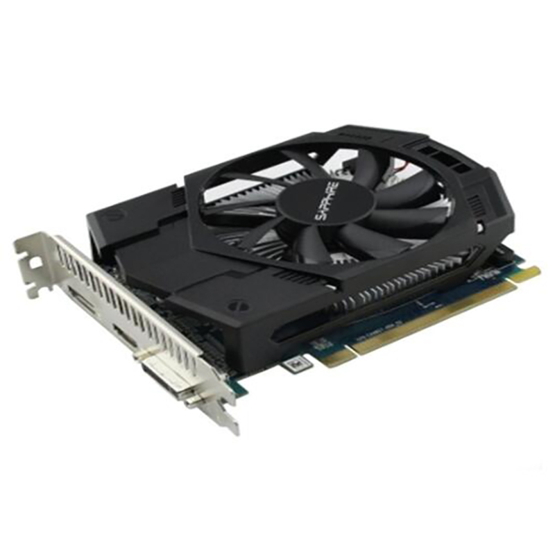 SAPPHIRE Radeon HD 7770 1GB Graphics Cards GPU For AMD HD7770 1G GDDR5 Video Cards PC Computer Gaming HDMI PCI-E X16 Used 5