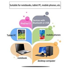 Image 3 - Bluetooth Draadloze Muis Computer Muis Stille 10M Mause Oplaadbare Ergonomische Muis 5.8Ghz Muizen Voor Laptop Pc Tablet Ipad