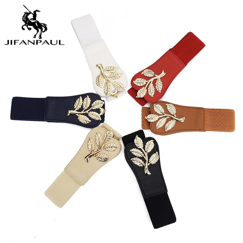 JIFANPAUL Ladie Dress Decoration With Waistband Fashion Canvas Belt Exquisite Chinese Style Embellished Ladies Luxury Brand Belt