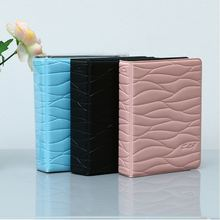 Mini Photo Album 3 Inch Leaf Stripe Films Storage Bag Picture Holder for Fuji Instax LiPlay 9 8 70s 25 Name Cards